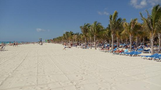 Hotel Riu Palace Mexico: The Beach