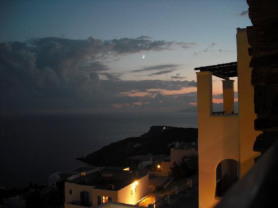 Hotel Katerina: Le soir