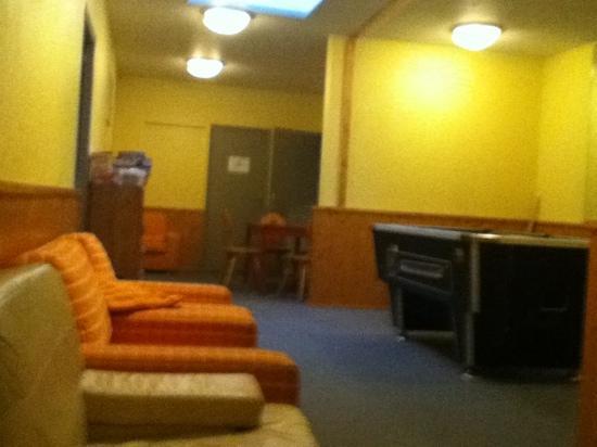 Chalet Les Grangettes : the games room