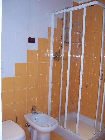 ampio bagno con finestra  picture of best western hotel, Disegni interni