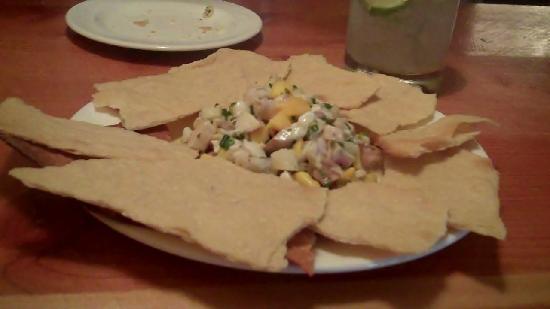 El Monte Grill & Lounge: Ceviche