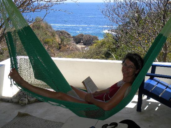 Hotel Posada Arigalan: Détente en profitant de la brise et de la vue