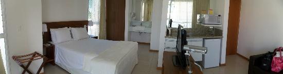 Mar Brasil Hotel : um dos quartos quando hospedamos