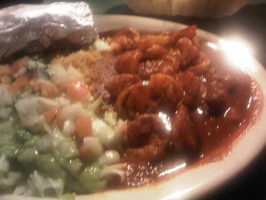 Los Agaves Mexican restaurant: Shrimp Diabla