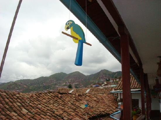 Hostal Magico: A view from the Hostal balcony