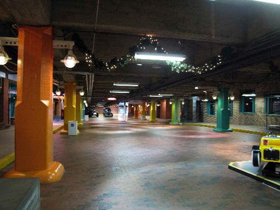 Underground Atlanta   Pryor street overpass   Picture of