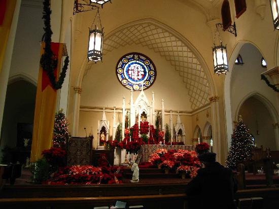 The Catholic Shrine of the Immaculate Conception : Immaculate Conception Church - interior