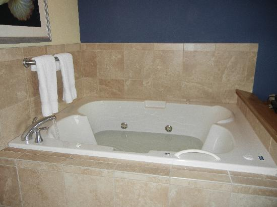 Hampton Inn Virginia Beach Oceanfront North: in-room jacuzzi