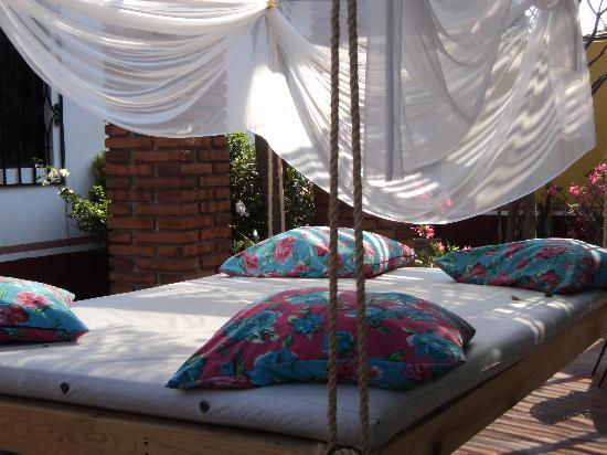 Casa Alvarada: star gazing bed