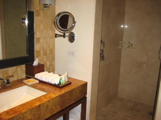 JW Marriott Hotel Bogota: Shower in bathroom