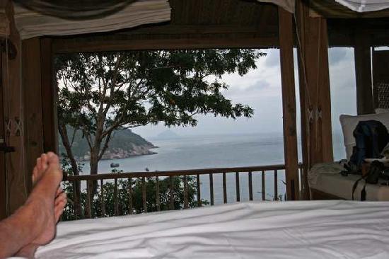 Six Senses Ninh Van Bay : View from bedroom