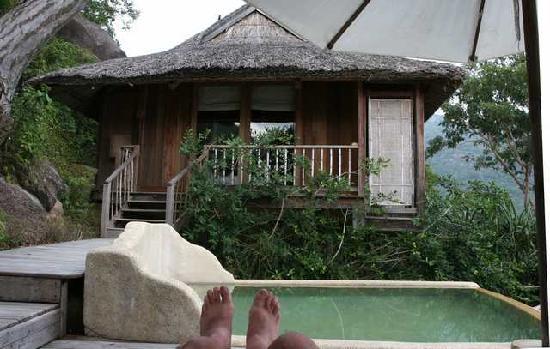Six Senses Ninh Van Bay : view of pool of bedroom
