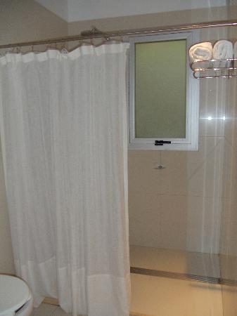 Magnolia Hotel Boutique: HUGE shower!