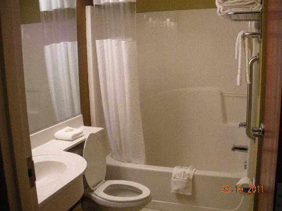 Microtel Inn & Suites by Wyndham Perry: Bathroom