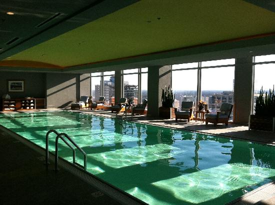 Rooftop Indoor Pool Picture Of The Ritz Carlton Charlotte Charlotte Tripadvisor