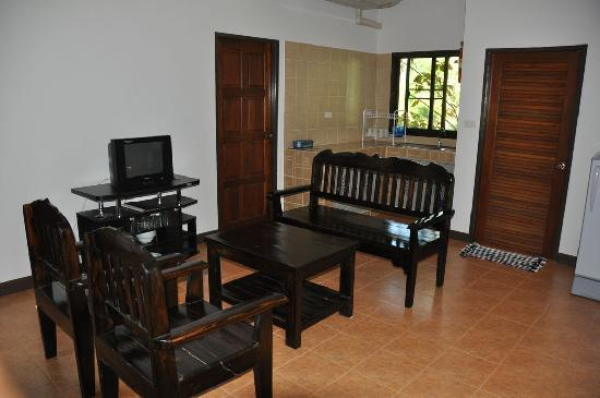 Chang Garden Resort - Family Holiday Park: livingroom house 1-2