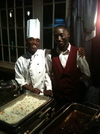Fun and good food at the Chez Robert
