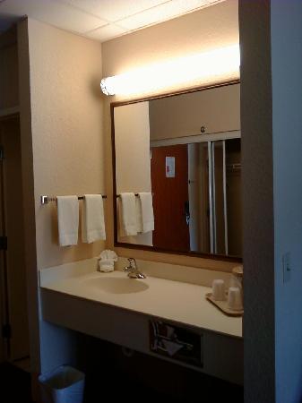 Comfort Inn Bonita Springs: Vanity Area outside of bathroom