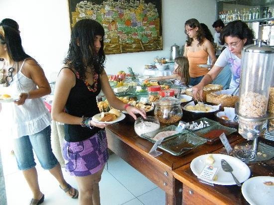 Monte Pascoal Praia Hotel Salvador : Desayuno