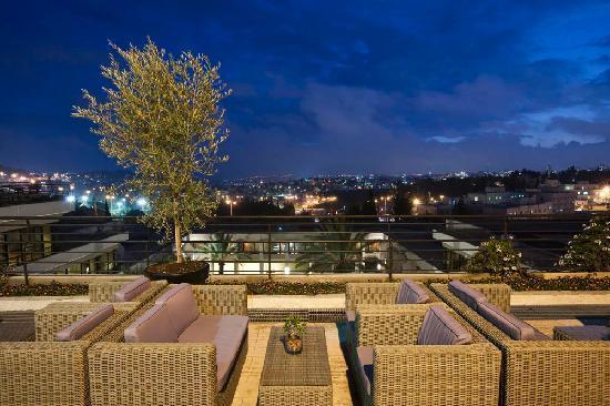 Dan Jerusalem Hotel: Hotel Terrace