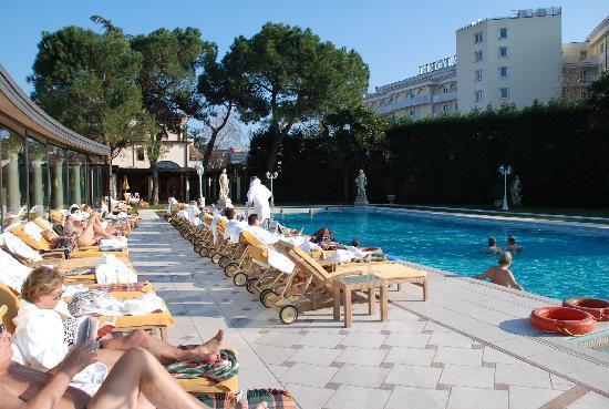 Hotel President Terme: piscina termale