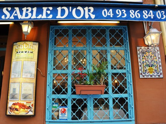 Resto Sable d'Or à Nice