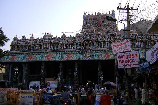 ألابوزا, الهند: 寺院間近から