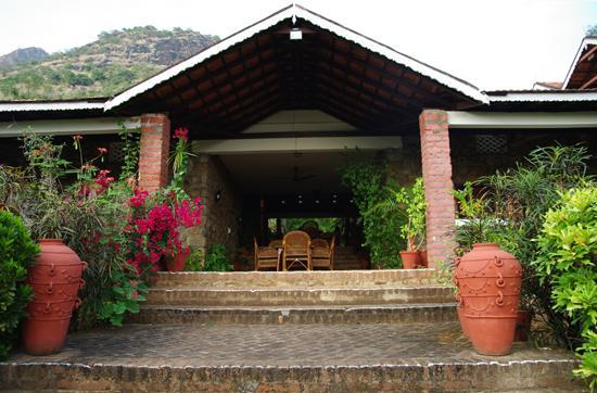 Cardamom House: vue du jardin