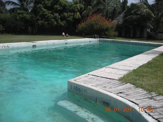 Bagamoyo, Tanzânia: la piscine creusée par jdo