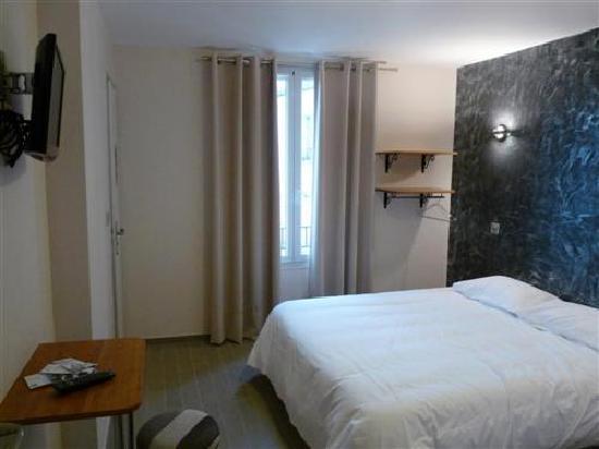 Hotel Sofia: chambre double sur patio