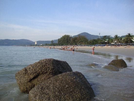 Marina Phuket Resort: La spiaggia