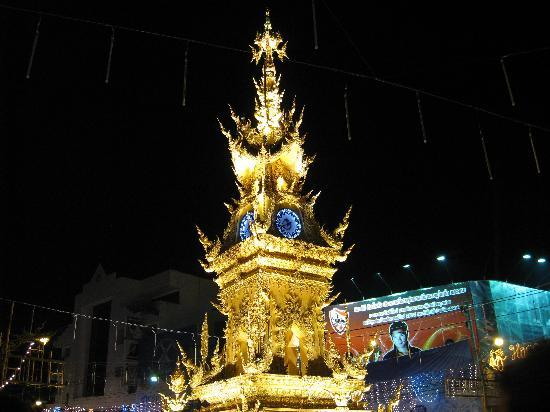 Chiang Rai, Thailand: 凄くひかってました~