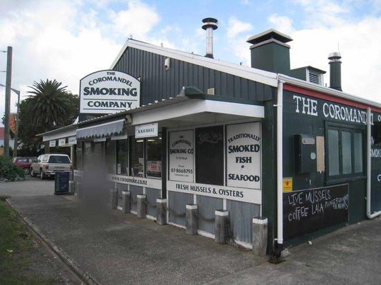 The Coromandel Smoking Co. : コロマンデルの薫製専門店
