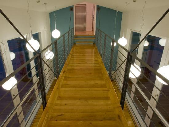 Hotel Piazza Bellini : corridor