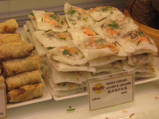 Food - Galeries Lafayette Gourmet: Vietnamese ravioli, as beautiful as it was tasty!