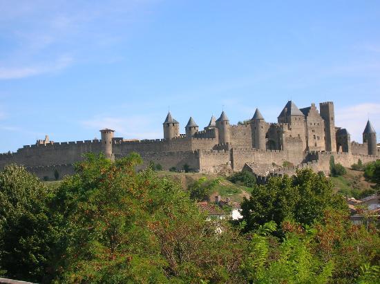 Carcassonne, France : il castello delle fate