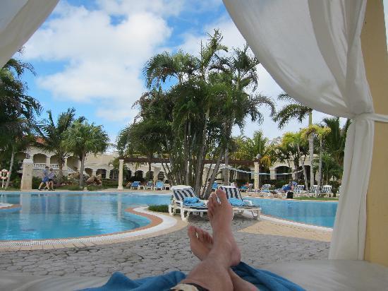 Paradisus Princesa del Mar Resort & Spa: Pool bed