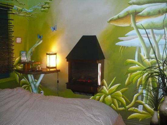 Spa Crystal-Inn B&B Mont Tremblant: suite amazonite