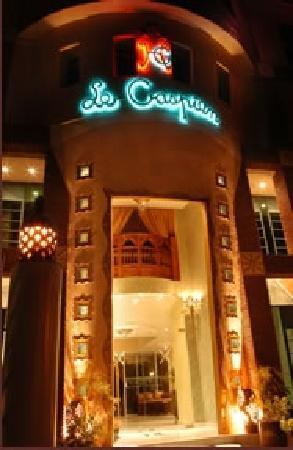 Hotel le Caspien : fassade