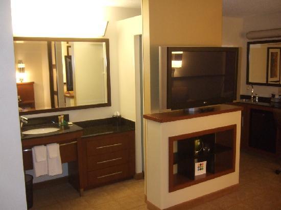 Hyatt Place Memphis Primacy Parkway: Vanity/TV