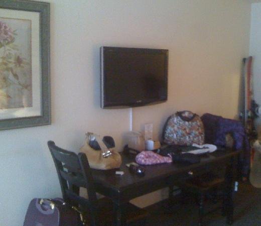 Breck Inn: Flat screen TV