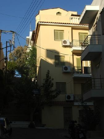 Mare-Olympus Apartments : street view of Mare
