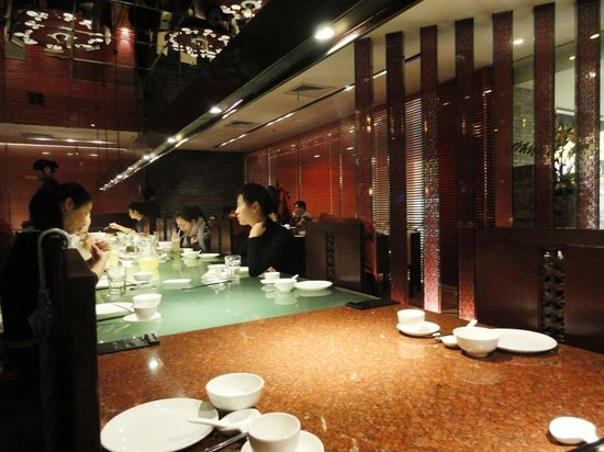 ShangHai FeiCui Restaurant (Xintiandi): Communal Table at Crystal Jade