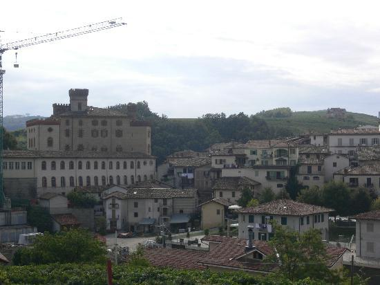 Hotel Barolo: view from our room