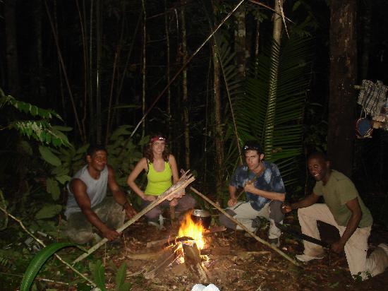 Malocas Jungle Lodge : Nuit de survie en jungle