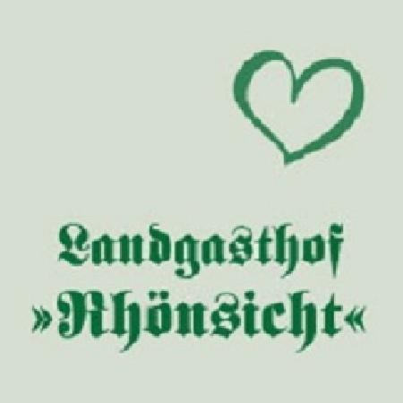 Landgasthof Rhoensicht: Logo