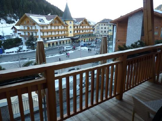 Boutique Hotel Nives: View from the balcony