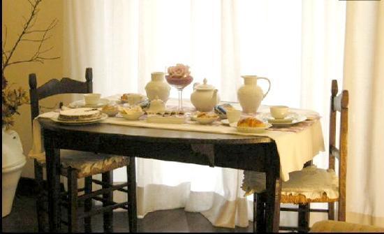 Casa Valeria: Breakfast