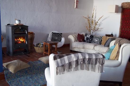 Casa Rural Santa Ana: saloncito