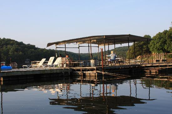 Lake Ozark, MO: Covered Fishing Dock